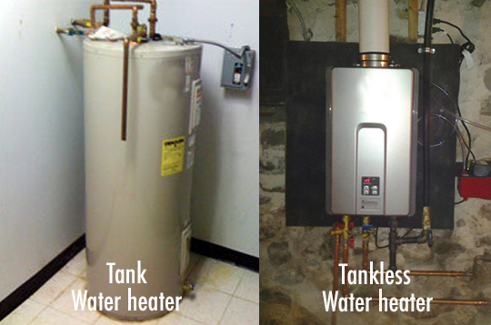 how much energy a tankless water heater saves