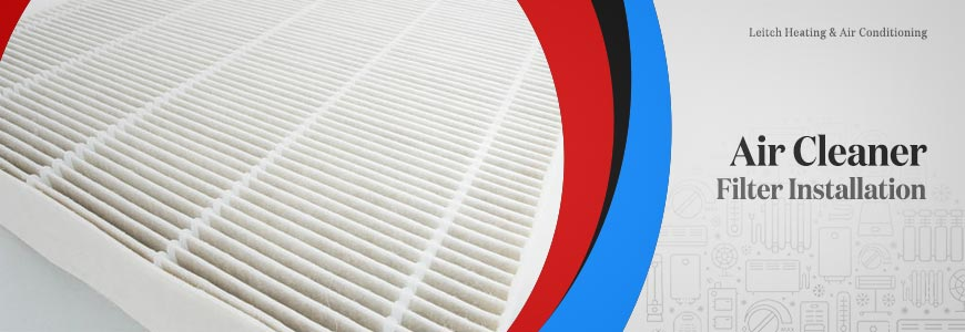 Air Cleaner Filter Installation Service in Southern Maryland